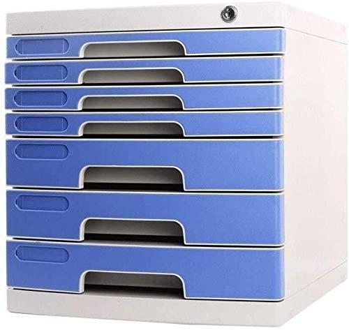 PIVFEDQX Archivadores Caja de Almacenamiento Cerradura Cajón de Datos Gabinete Mano de...