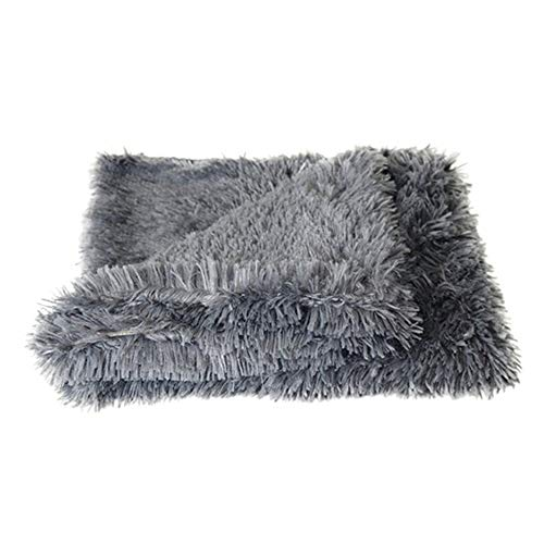 GDYX Dog Mat Fluffy Plush Pet Pet Cover Dog Cat Matelas Summer and Winter Bed with Deep Sleep Soft Pad S DH