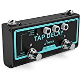Donner Tap Delay Guitar Effect Pedal, 3 Delay Modes Digital Reverse Analogue Delay with Tap Tempo Control