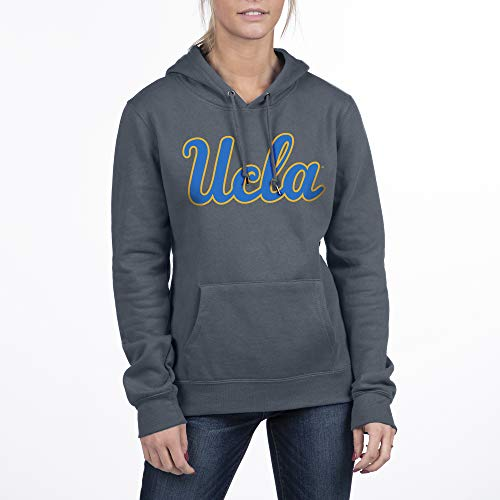 Top of the World NCAA Damen Essential Fleece Hoodie Sweatshirt, Damen, Essential Fleece Hoodie Sweatshirt, UCLA Bruins Gray Heather, Medium