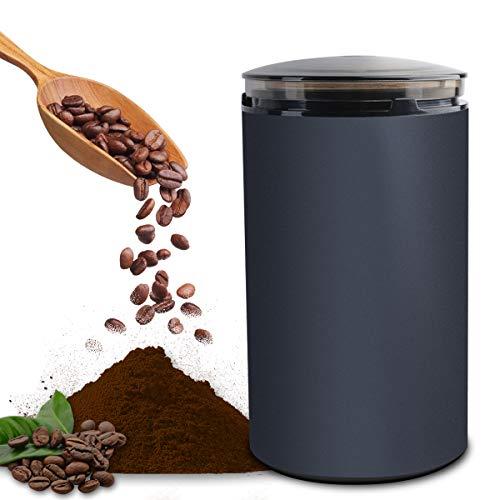 電動コーヒーミル コーヒーグラインダー ミルミキサー 粉末 コーヒー豆 ひき機 水洗い可能 豆挽き 緑茶 山椒 お米 調味料 穀物を挽く 一台多役 掃除ブラシ付 お手入れ簡単 高性能ミル(M150A)
