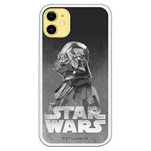 Funda para iPhone 11 Oficial de Star Wars Darth Vader Fondo