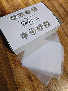Caja para Mantecados o Galletas con Papel Parafinado para su