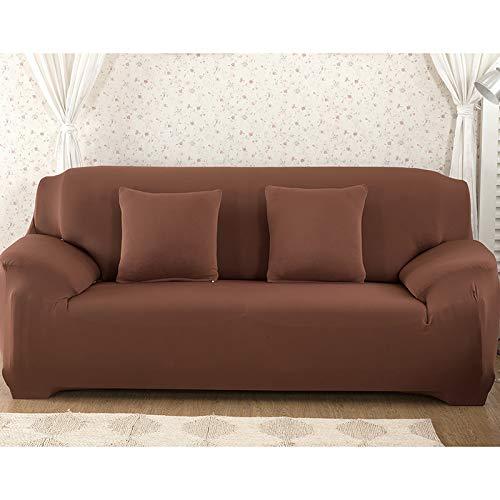 WXQY Funda de sofá elástica Gris Todo Incluido Funda de sofá Antideslizante sofá Toalla Funda de sofá Sala de Estar Funda de sofá A10 1 Plaza