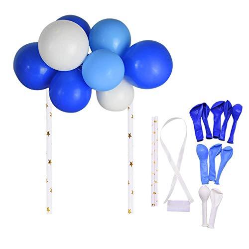 Aomerrt 20 stuks/set 5 inch ballonballon slinger taartdecoratie verjaardag kinderen baby shower toppers