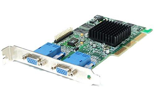 Matrox Millenium G450 DualHead G45+MDHA32DB - Scheda video da 32 MB DDR 2x VGA AGP 4x