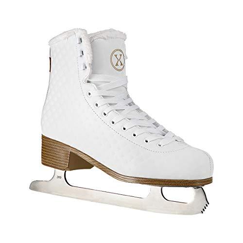 NILS Damen Eiskunstlauf Schlittschuhe Ice-Star weiß - Gr. 36, 37, 38, 39, 40, 41, 42 (40)