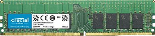 Crucial CT16G4RFS4266 16GB Speicher (DDR4, 2666 MT/s, PC4-21300, Single Rank x4, ECC, Registrierte, DIMM, 288-Pin)