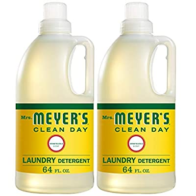 Mrs. Meyer's Laundry Detergent, Honeysuckle, 64 fl oz (2 ct)