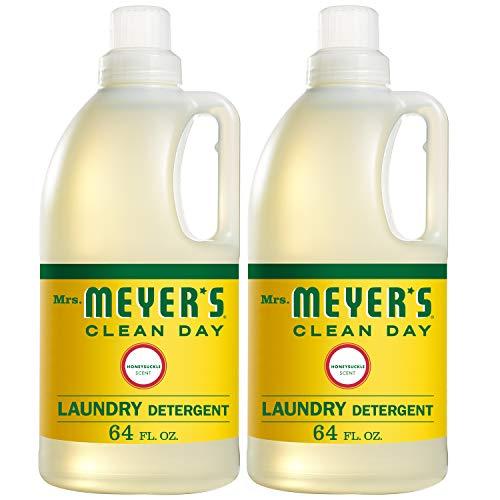 Mrs. Meyer's Laundry Detergent, Honeysuckle, 64 fl oz (2 ct)