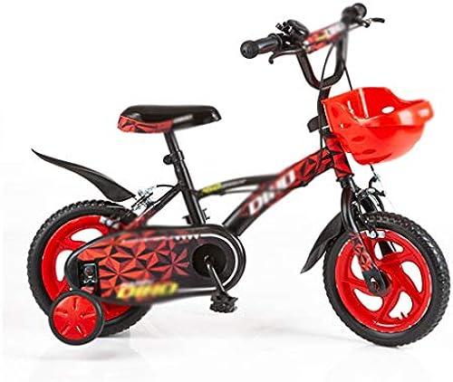 Kinderfürr r Sport & Freizeit 12 Zoll Cooles fürrad Mountainbike unten füren (Farbe   rot, Größe   12inch(90cm30cm5cm))