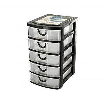 Kole Imports OL429 5 Drawer Desktop Storage Organizer