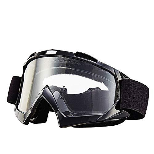 Gafas de Motocross, Gafas Impermeables de Motocross para Ciclismo de Carreras, protección UV