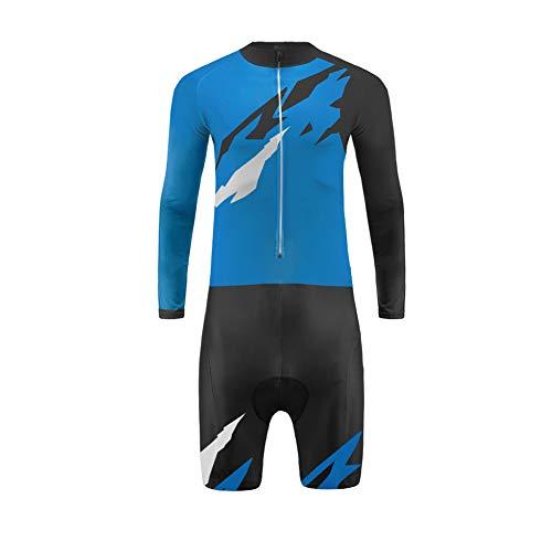 Uglyfrog -Newest-August Designs Sport Radsport Trikots & Shirts Lange Ärme with Kurze Beine Skinsuit+Gel PAD Herren Sommer Stil Bekleidung Flexibel Atmungsaktiv Clothes