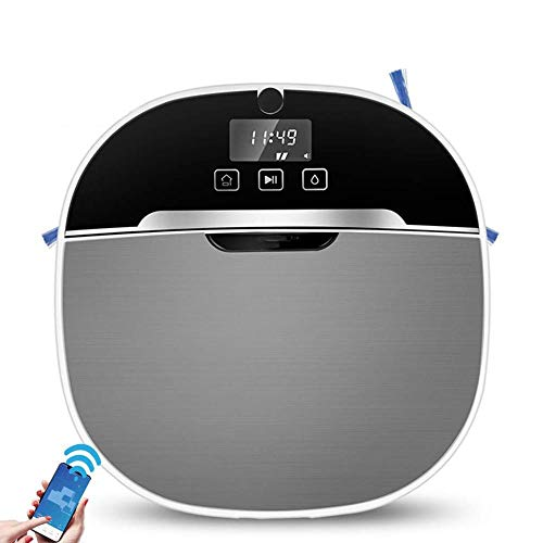 Best Price! BYBYC Robot Vacuum Cleaner, 2200pa Powerful Suction, Ultra-Thin, 2-in-1 Vacuum Cleaner a...