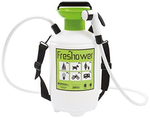 Epocaspa Freshower 7 8311.S00 - Ducha portátil plástico, 7L, color transparente, verde y negro