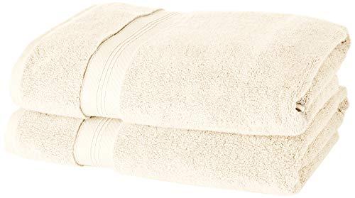 Set de 2 toallas de ducha de algodón Pima 70 x 140 cm MAS VENDIDO