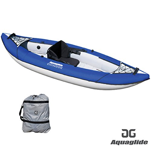Aquaglide 2017 Chinook XP 1 Man Kayak BLUE - Kayak Only