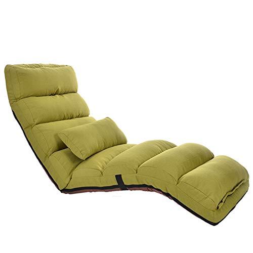 OCYE Plegable Luxe-Silla,Sillón Relax Reclinable,Sillón Sofá Silla,extraíble y Lavable,Multi-Ajustable,Utilizado en el Estudio de la Oficina en el hogar, Sala de Estar