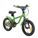 LÖWENRAD Bicicleta Infantil para niños y niñas a Partir de 3-4 años   Bici 14' Pulgadas con Frenos   Verde