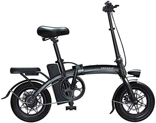 Bicicleta eléctrica Bicicleta eléctrica por la mon Bicicletas eléctricas rápidas for adultos portátil y fácil de tienda de iones de litio y el pulgar silencioso motor de la E-Bici del acelerador con e