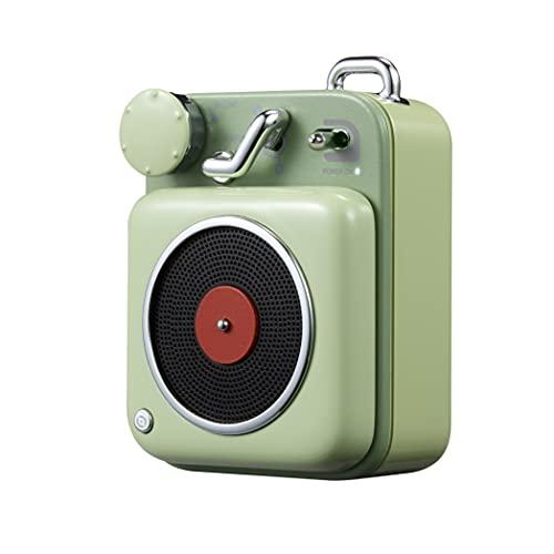 Altavoz Inalámbraca MUZEN Button Bluetooth Speaker Vintage Compacto Diseño Portátil Altavoz Loudspeaker...