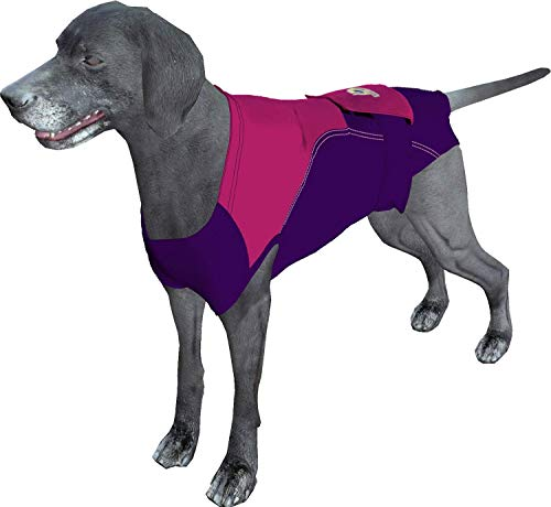 Surgi~Snuggly Disposable Dog Diapers Keeper - for Male and Female Dogs - Wrap Around Legs for Superior Fit - Fits (XLL - PP)