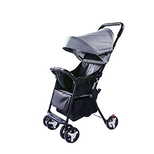 Why Should You Buy Baby cart Can sit Reclining Ultralight Foldable Comfortable and Breathable Can be...