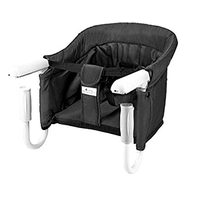 BeMAX Hook On Chair, Baby High Chair Portable and Foldable, Removable Seat with Tight Fixing Clip, Fast Install