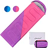 Clostnature Sleeping Bag - Lightweight Waterproof Camping Sleeping Bag for Adults, Kids, Women, Men's Hiking, Outdoors, Mountaineering - Compression Sack Included…