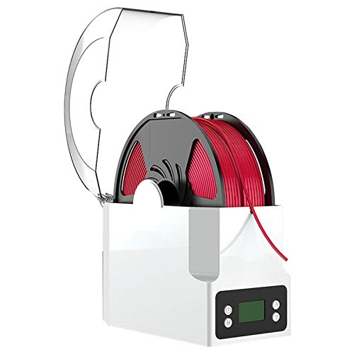 WZCXYX 3D-Druckerzubehör Verbrauchsmaterial Trockenbox Heizung Feuchtigkeits- Und Staubdicht PLA ABS PVA Nylon Aufbewahrungsbox