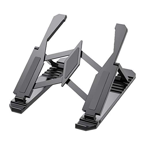 Miki Adjustable Foldable Laptop Tablet Stand Portable Desktop Holder Mounts Laptop Accessories For Macbook Pro Air Notebook Stand