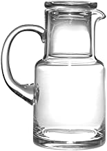 Barski – European Quality Glass – 2 Piece Water Set -Bedside Night Water..