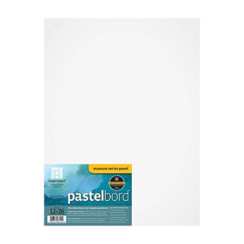 Ampersand Pastelbord blanca 12X16 1/8 pulgadas