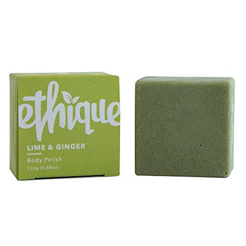 Ethique Eco-Friendly Body Polish, Lime & Ginger 3.88 oz