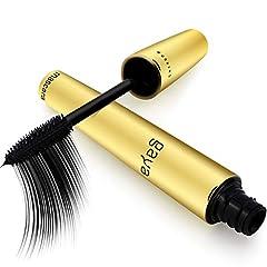 Gaya Cosmetics Vegan Mascara mascara - rallonge de cils noir pour les yeux maquillage pour l'allongement visuel des cils naturels (Black)