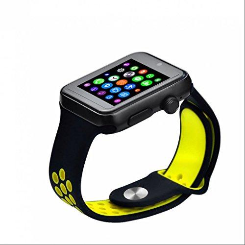 Fitness tracker Sport Orologio Intelligente Orologio Telefono Sim Card Remote Musica fotocamera Bluetooth Smartwatch Facebook Twitter per iOS Android