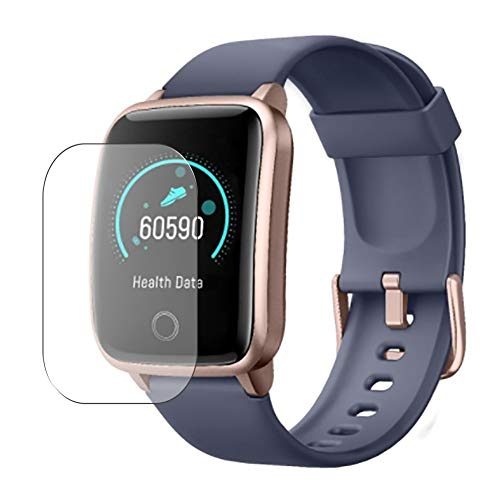 Vaxson - 3 pellicole protettive compatibili con Smartwatch GRDE Smart Watch 1.3' id205s, pellicola protettiva in TPU senza bolle, non in vetro temperato