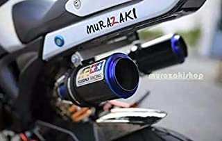 Dual High Mount Aodonly Racing Exhaust Titanium Color For Honda Grom Msx 2013-2019 All Model and SSR Razkull 125
