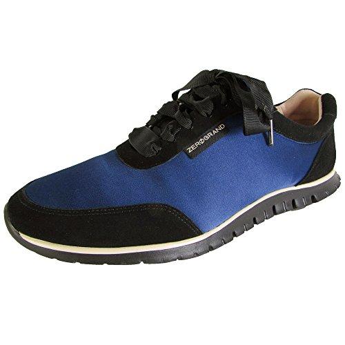 Cole Haan Womens Zerogrand Stagedoor Sneaker Shoes, Midnight Blue/Black, US 11