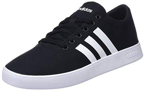 Adidas Easy Vulc 2.0, Zapatillas, Hombre, Negro (Core Black/Footwear White/Grey 0), 43 1/3 EU