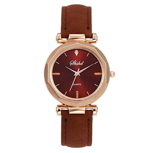 Cloodut - Reloj analógico de Pulsera de Cuarzo para Mujer de Moda y de Estilo Casual (Adecuado para Cualquier ocasión)