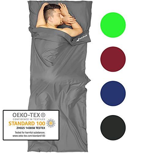 Fit-Flip Saco de Dormir Ultraligero de Microfibra
