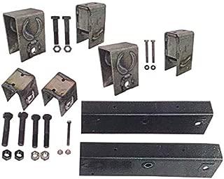 Trailer Tandem Axle Slipper Suspension/Hanger Kit for 12,000-15,000 Pound Axles