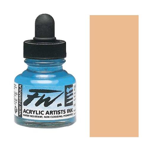 Fw Acrylic Artists Ink 1 Oz Flesh Tint by Daler Rowney