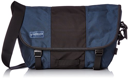 Timbuk2 Classic Messenger Bag, Dusk Blue/Black, Medium