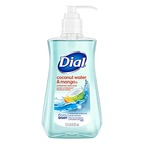 7.5 oz Dial Liquid Hand Soap, Coconut Water & Mango: $0.93 or less