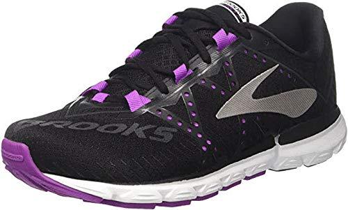 Brooks Women's Neuro 2 Black/Purple Cactus Flower/White 6.5 B US