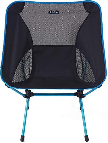 Helinox Chair One XL | Die geräumigere Version des Orginalstuhls, One XL, bietet einen umfangreicheren Komfort mit ausgeklügeltem Design und guter Leistung (Black)
