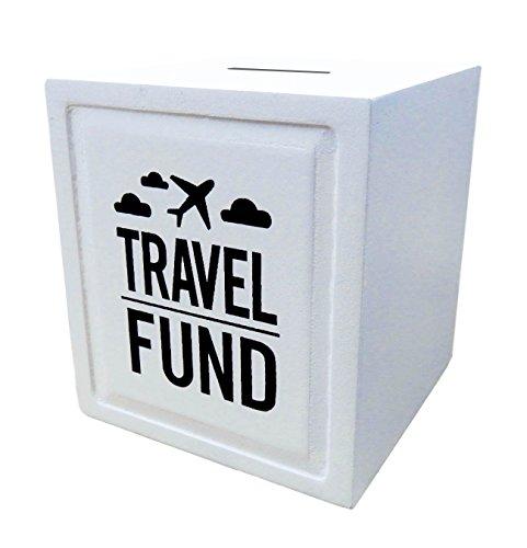 Sterling James Co. Alcancía Travel Fund – Ideas de Regalos de Boda y Viaje - Alcancía – Regalos para Inauguración de Nueva Casa y Jubilación para Viajeros